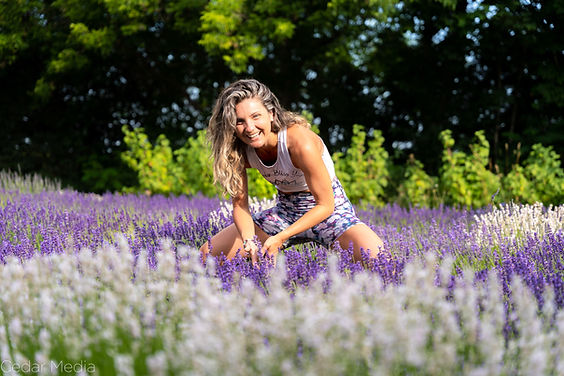 Lavender-Blu Yoga