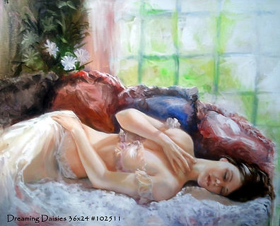 Dreaming Daisies 24x 36