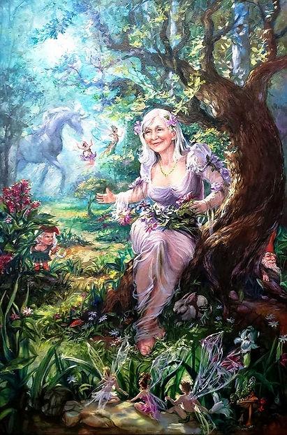 Fairy Godmother 36x24