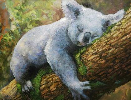 Bear Hug 18x24