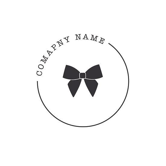 Logo Design: Circular Bow Gift Company Logo