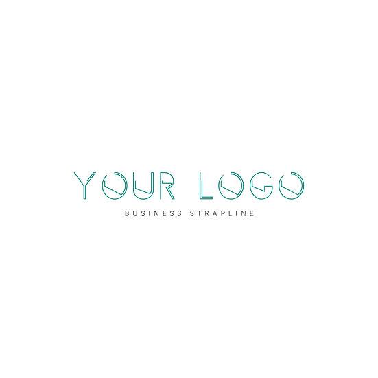 Logo Design: Font Outline Lines Company Logo