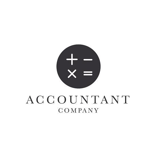 Logo Design: Accountant Company Calculate Logo