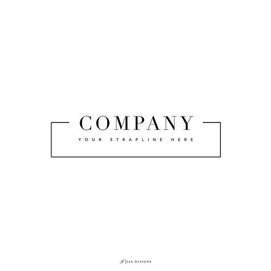 Logo Design: Company Square Simple Design