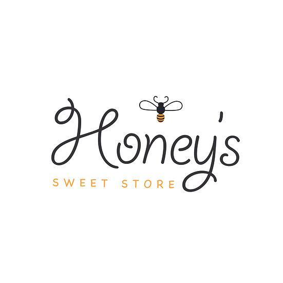 Logo Design: Honey's Sweet Store Bee Company Logo
