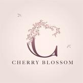 Cherry Blossom Logo Design