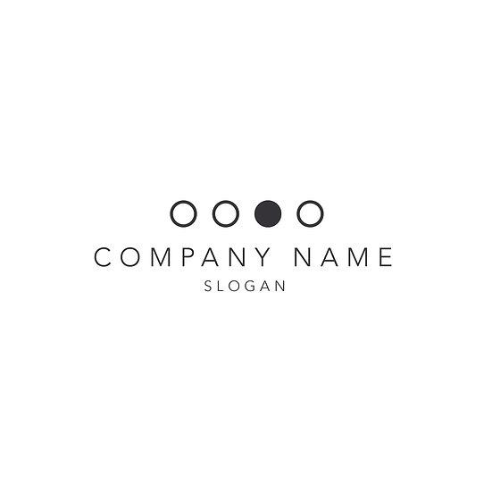 Logo Design: Geometric Simple Circle Company Logo