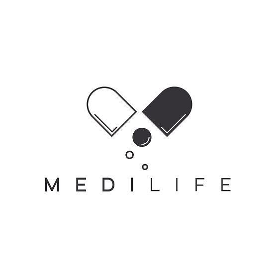Logo Design: Medical Pill Company Logo