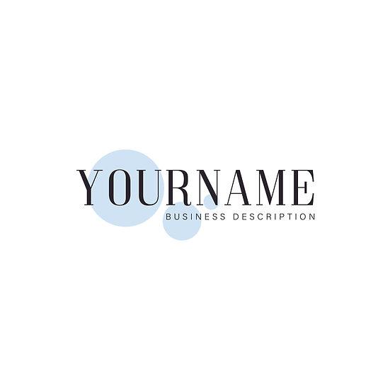 Logo Design: Personalised Bubble Company Logo