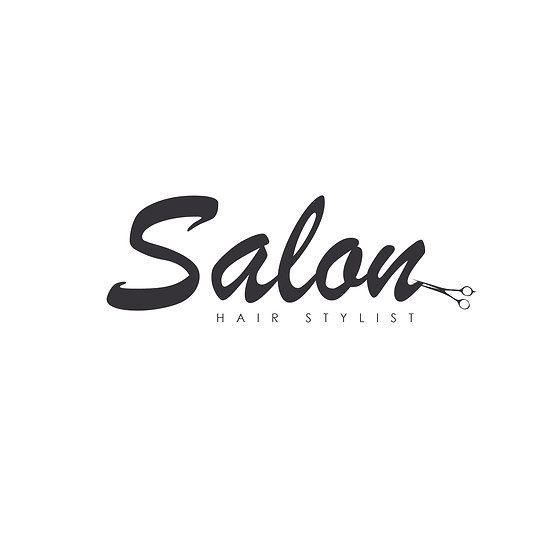 Logo Design: Hair Salon Stylist Script Simple Company Logo