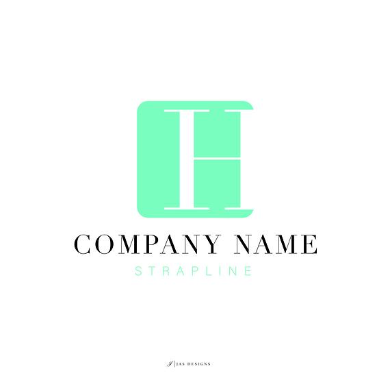Logo Design: Block Initials Company Logo