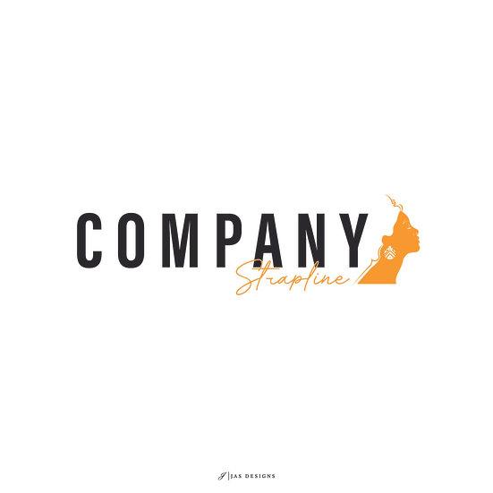 Logo Design: African Lady Beauty Company Logo