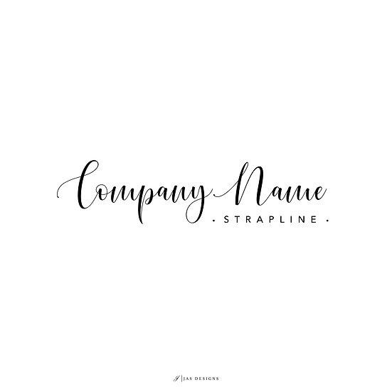 Logo Design: Script Font Company Logo