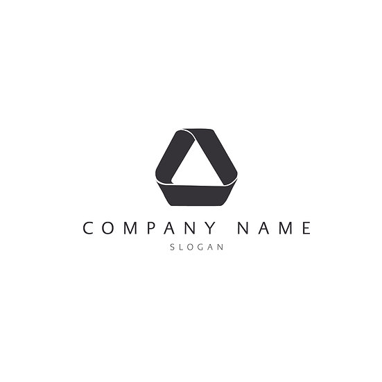 Logo Design: Triangle 3D Personalised Company Logo