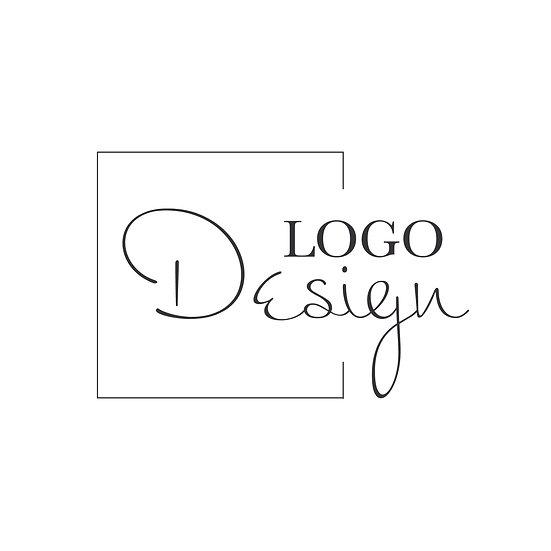 Logo Design: Square Frame Script Company Logo