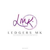 Ledgers MK Logo Design