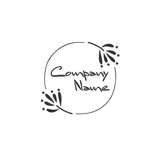 Logo Design: Tribal Bohemian Floral Company Logo
