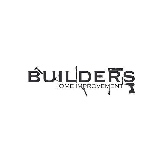 Logo Design: Builders  Home Improvements Tools Logo