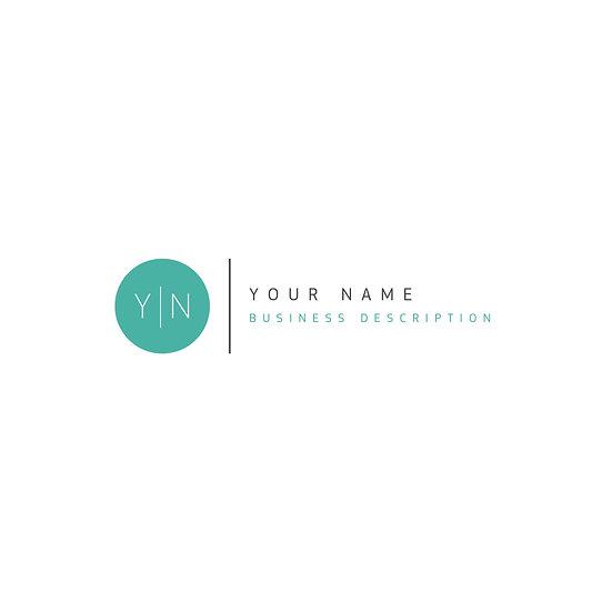 Logo Design: Simple Circle Company Logo