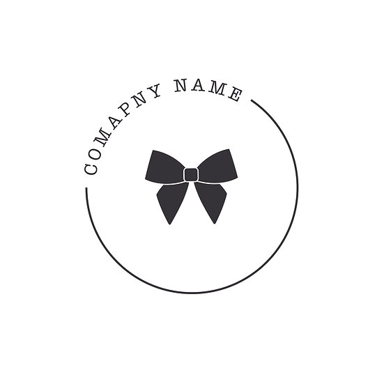 Logo Design: Cute Bow Gift Company Logo