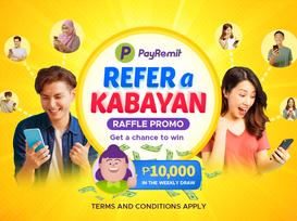 PayRemit Refer a Kabayan RAFFLE PROMO!