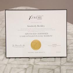Advanced Certified Lash Stylist