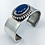 Thumbnail: Lapis and Silver Bracelet by Calvin Nelson