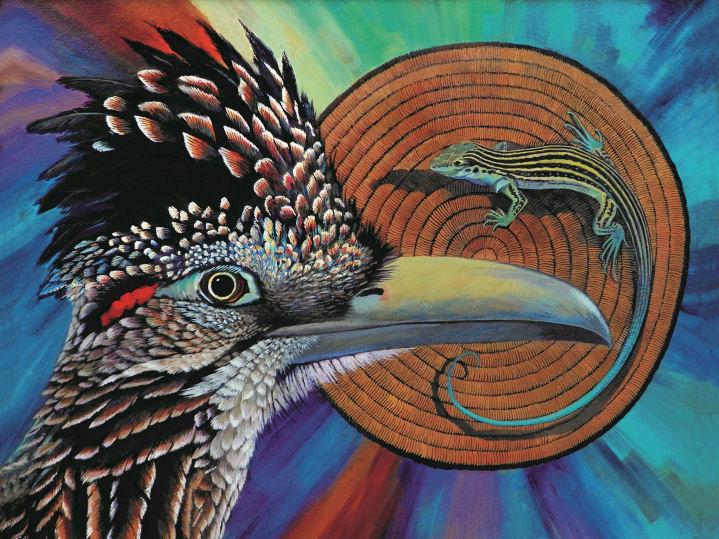 """Desert Circle of Life"" by Kathy Morrow"