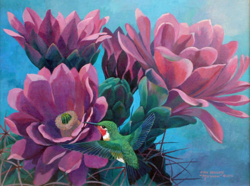 """Pink Delights"" by Kathy Morrow"