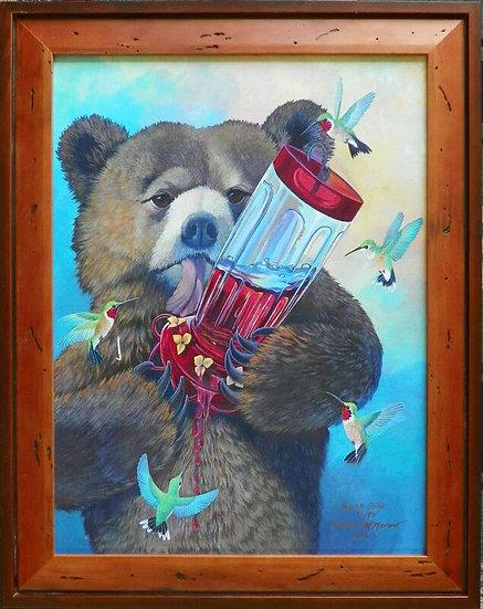 """""""Sugar Bear"""" by Kathy Morrow"""