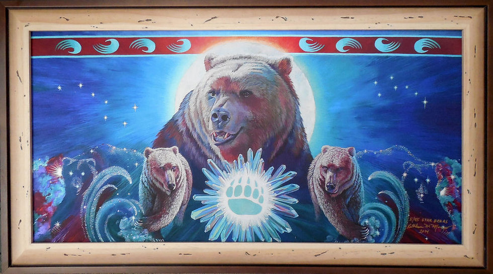 """Star Bears"" by Kathy Morrow"
