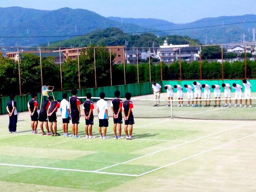 子供のテニス観戦が好き!
