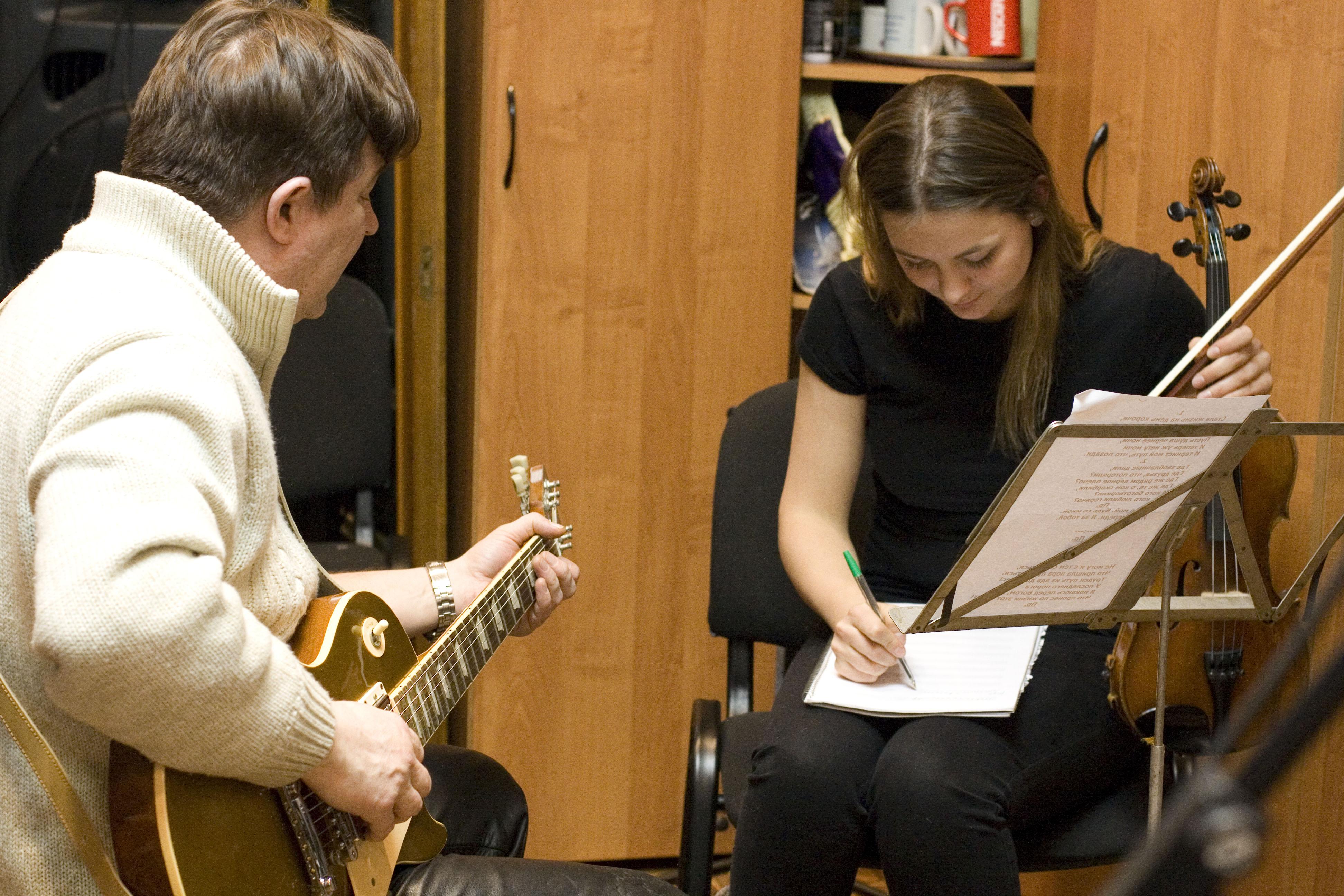Подготовка к концертам