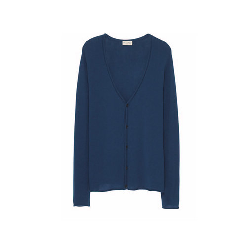 American Vintage wool and cashmere blue cardigan