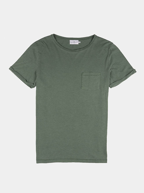 Cuisse de Grenouille light kaki essential Tshirt