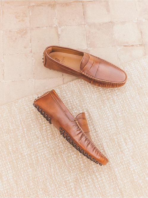 Bobbies Cognac loafer