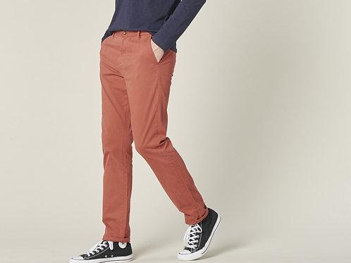 Harris Wilson acajou red chino trousers