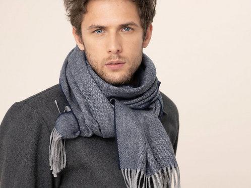 Harris Wilson Navy scarf