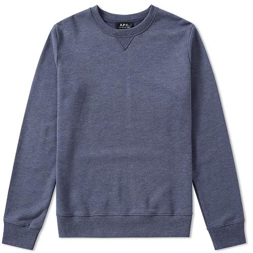 APC 70 Crew Navy Blue Sweatshirt