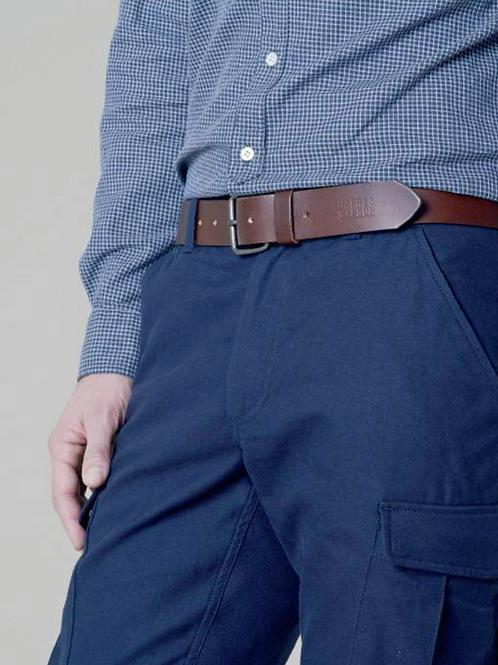 Harris Wilson 100% leather brown belt