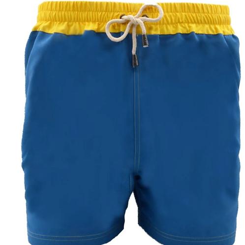 Dagobear Blue Swimsuit with yellow belt