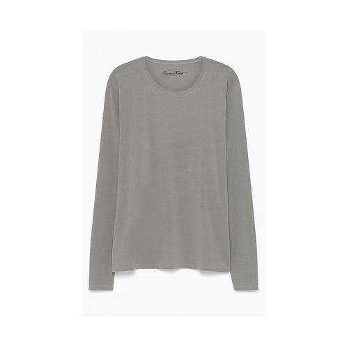 American Vintage vintage gravel color long sleeves tshirt