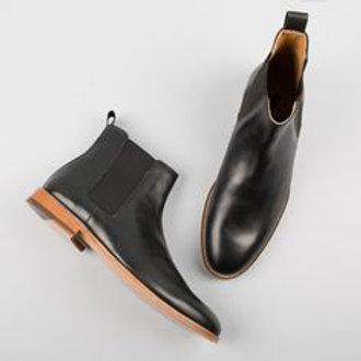 Bobbies Black leather Boots L'horloger