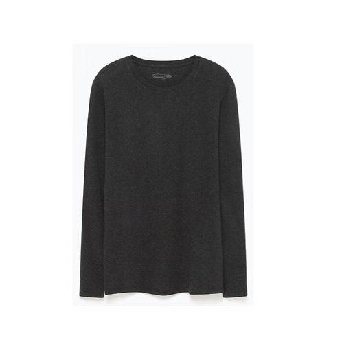 American Vintage Long Sleeves Grey Tshirt
