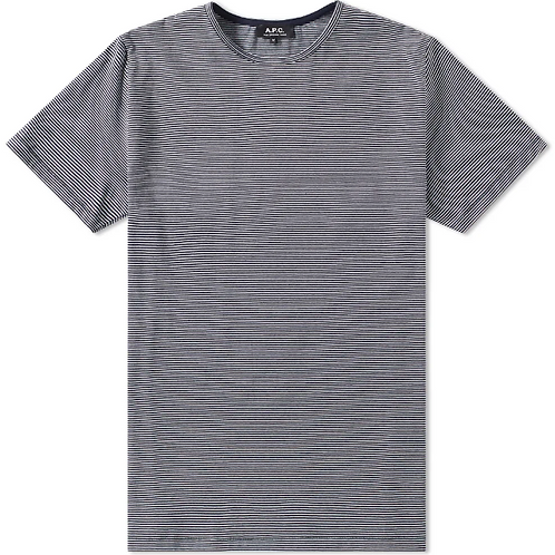 APC blue and white stripes T shirt