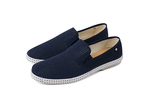 Navy Blue Classic Rivieras Shoes