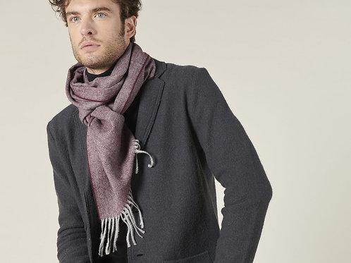Harris Wilson burgundy scarf