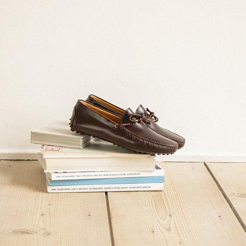 Bobbies le magnifique Bison leather loafers