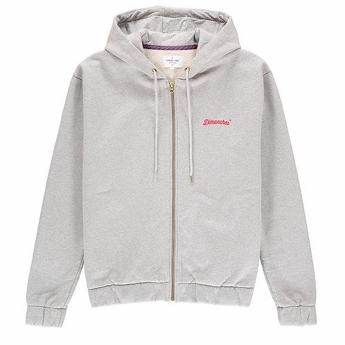 Commune de Paris grey hoodie