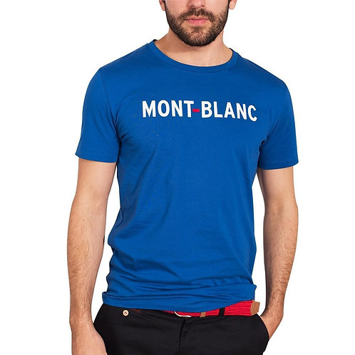 Faguo Blue Mont Blanc t-shirt